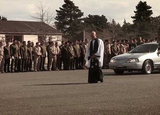 2nd 1st Farewell Their Fallen Comrades With A Huge Haka - YouTube