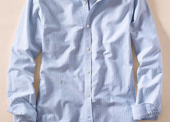 Relaxed Oxford clubcollar shirt from Lands' End