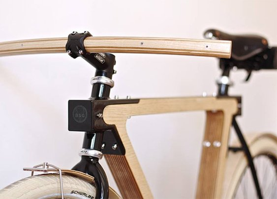 The WOOD.b Bike by BSG | Colossal
