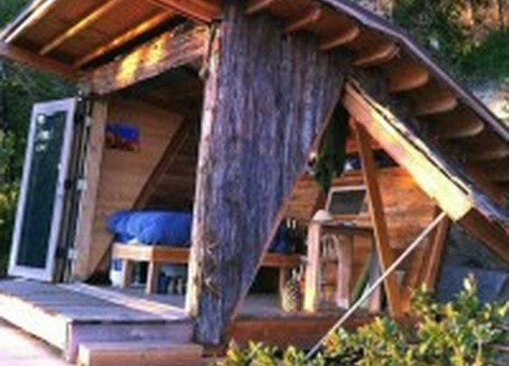 90 Square Foot Timber Home in Big Sur