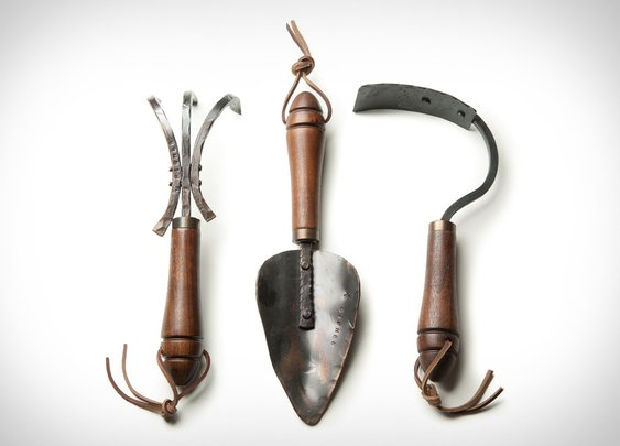Fisher Blacksmithing Garden Tools | Uncrate