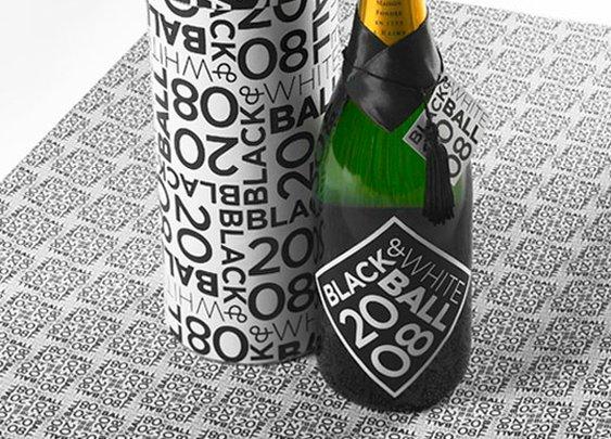 Black and White Ball Designed by Pentagram