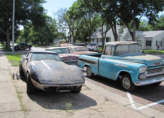 Scores of new Chevys stored for decades undriven finally up for sale | Motoramic - Yahoo! Autos