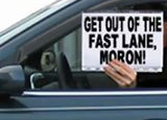 Left Lane Slow Pokes Getting Hammered in New Jersey : 101 or Less