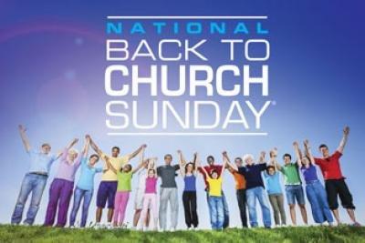 Back to Church Sunday (Sept. 15, 2013)