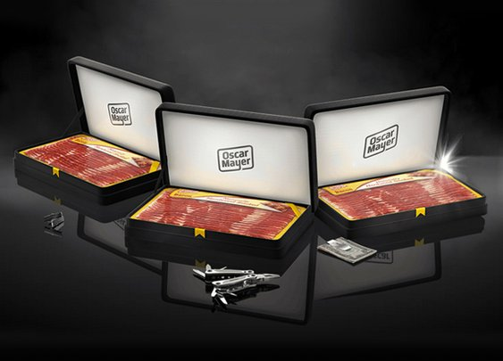 Oscar Mayer Bacon Boxes Father's Day Gift Set | Cool Material