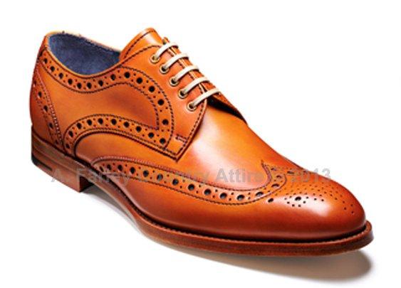 Barker Shoes - Thompson Cedar Calf - Brogue -