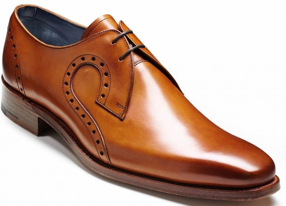 Barker Shoes - Orlando Cedar Calf (Brown Tan) -