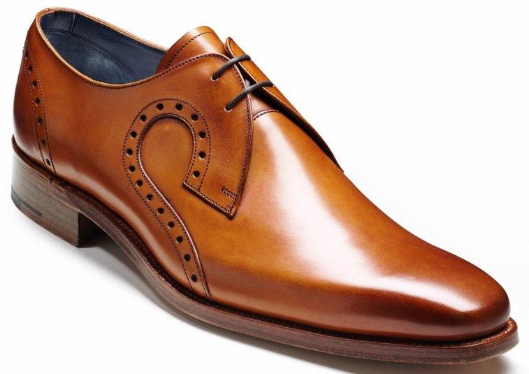 Barker Shoes - Orlando Cedar Calf (Brown Tan) -