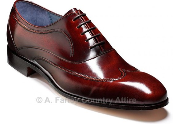Barker Shoes - Ainslie Brandy Cobbler - Oxford Style | New 2013