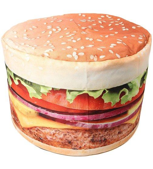 Relax on a Hamburger Beanbag