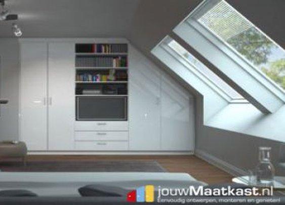 Elke vorm inbouwkast is mogelijk bij jouwMaatkast.nl