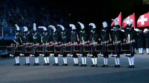 Top Secret Drum Corps Edinburgh Military Tattoo 2009 - YouTube
