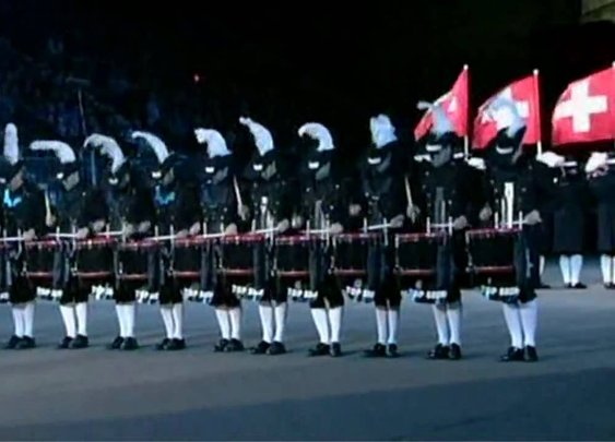Top Secret Drum Corps Edinburgh Military Tattoo 2009 - YouTube