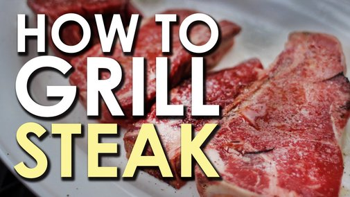 The Art of Grilling: How to Grill a Steak - Art Of Manliness