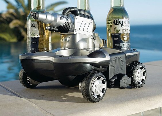 Amphibious Drink Delivery Vehicle