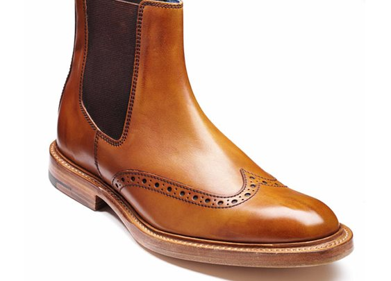Barker Boots - Pearce Cedar Calf - Shape 460 - Brogue Style Boot