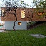 Anti Patio House Design by Drozdov Partners