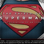 The Evolution of the Superman Symbol [infographic] - Primer