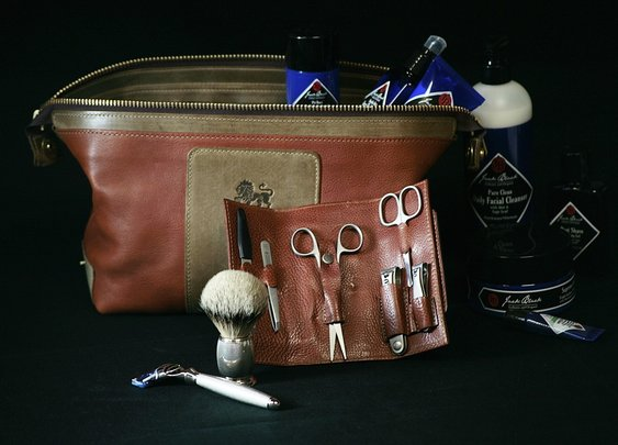 Men's Custom Designed Dopp Kit  | OakStreet Man