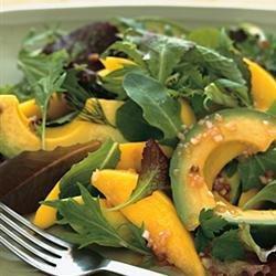 Thai Avocado Mango Salad