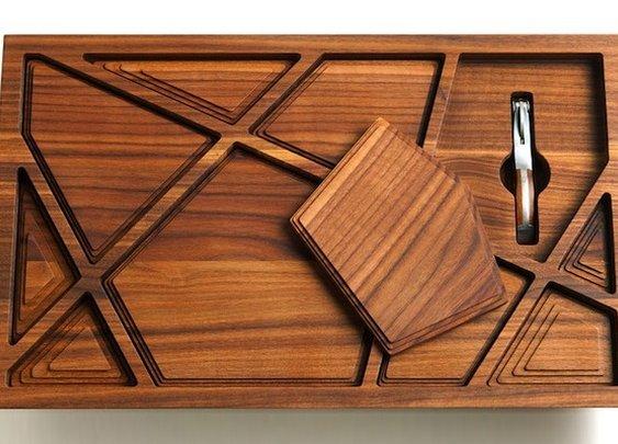 Newton Vineyard Puzzle Tray   Baxtton