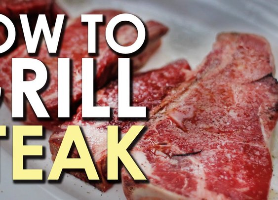 The Art of Grilling: How to Grill a Steak - YouTube