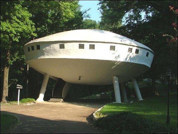 8 Unique UFO Shaped Buildings