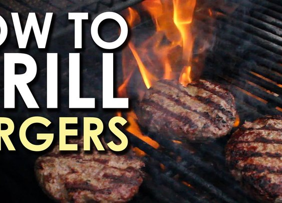 The Art of Grilling: How to Grill a Burger - YouTube
