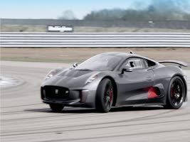 Jaguar's new hybrid supercar C-X75 goes from 0 to 100 mph in 6 seconds. [VIDEO]