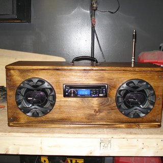 How to make a camping radio