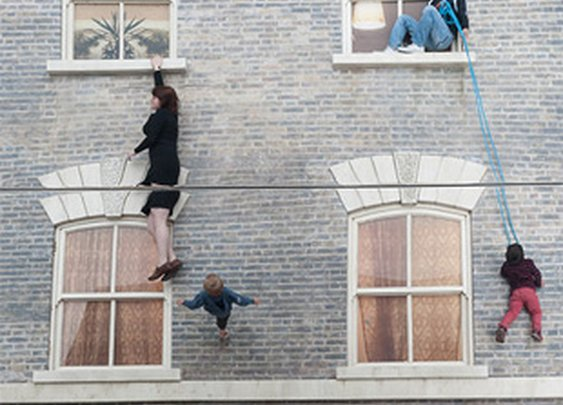 Leandro Erlich's Reflective Optical Illusion House Now in London | Colossal