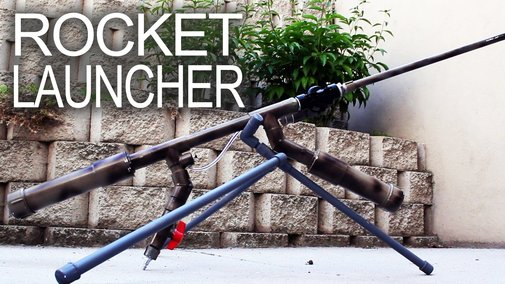 Powerful Handheld Rocket Rifle (AK-47 style) - YouTube