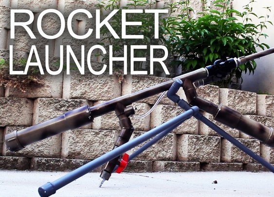 Powerful Handheld Rocket Rifle (AK-47 style) - YouTube