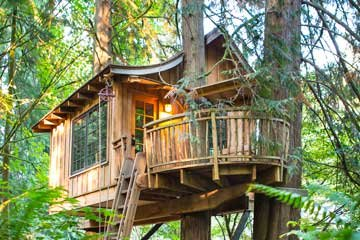 Luxury treehouses around the world