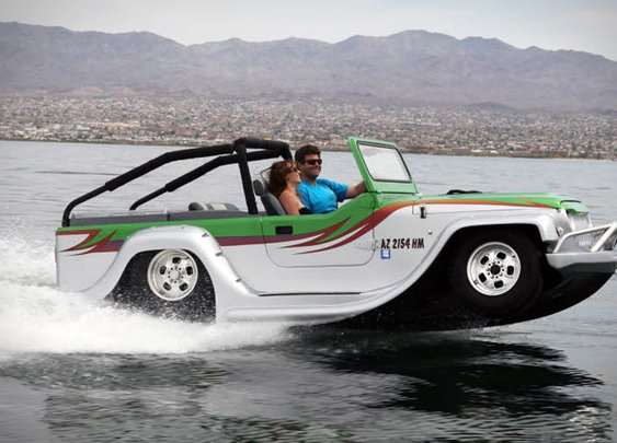 Watercar Panther | Uncrate