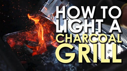 The Art of Grilling: How to Light a Charcoal Grill - YouTube