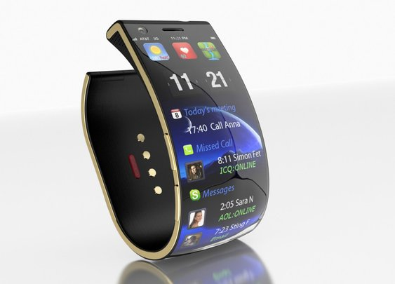 Emopulse Smile: Goodbye Gold, Hello Smartphone Bracelet