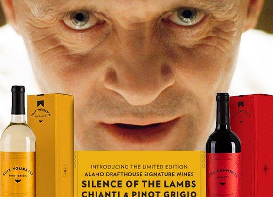 Hannibal Lecter and Princess Bride Wines