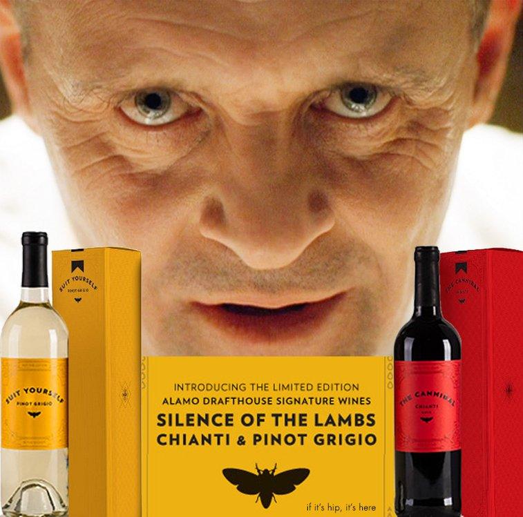 Hannibal Lecter and Princess Bride Wines