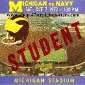 Michigan Wolverine football tickets