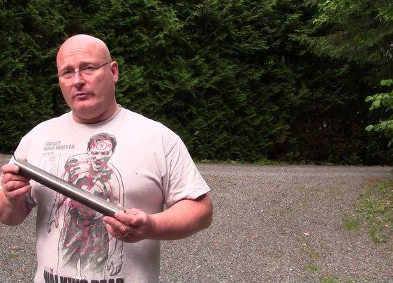Ultimate Survival Tomahawk - with slingshot!