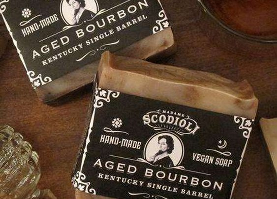 Boozy Bathroom Soaps - This Bourbon-Scented Bathroom Soap is for the Masculine Man (GALLERY)