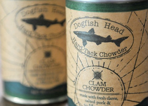 Dogfish Head Hard Tack Clam Chowder: Beer Makes It Better