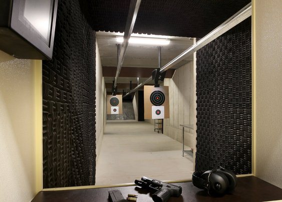 Home Indoor Shooting Range