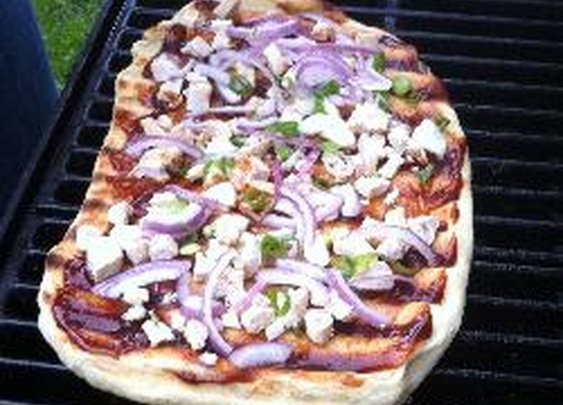 Pizza on the BBQ