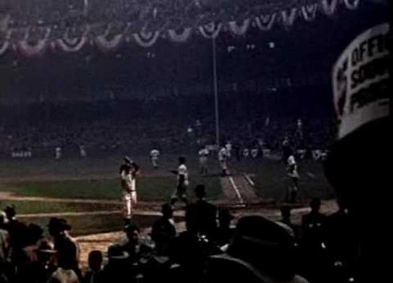 1939 World Series color footage - YouTube