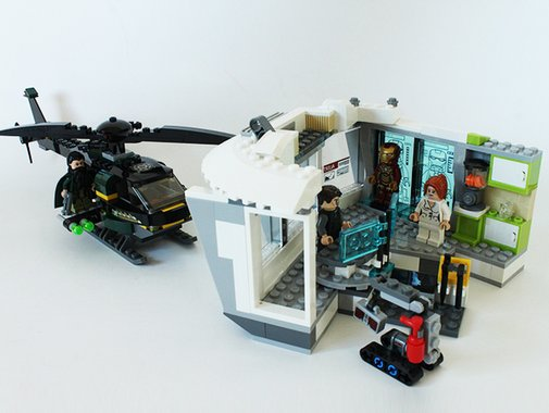 Lego: Iron Man - Malibu Mansion Attack Set