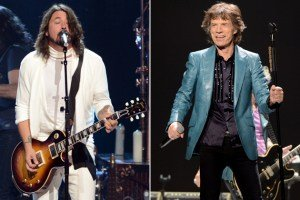 Foo Fighters' Dave Grohl Joins Rolling Stones at Anaheim Show