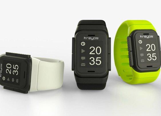 KREYOS Meteor: Smartwatch With Voice & Gesture Control